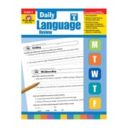 "Evan-Moor® ""Daily Language Review"" Grade 8 Teacher's Edition Activity Book, Language Skills"