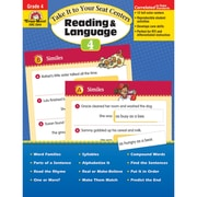 "Evan-Moor® ""Take It To Your Seat Centers: Reading..."" Grade 4 Resource Book, Language Arts/Reading"