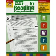 "Evan-Moor® ""Daily Reading Comprehension"" Grade 4 Teacher's Edition Book, Language Arts/Reading"