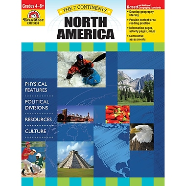 Evan-Moor® The 7 Continents North America Teacher Resource Book