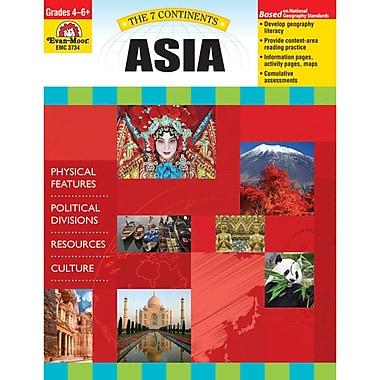 Evan-Moor® The 7 Continents Asia Teacher Resource Book (EMC3734)