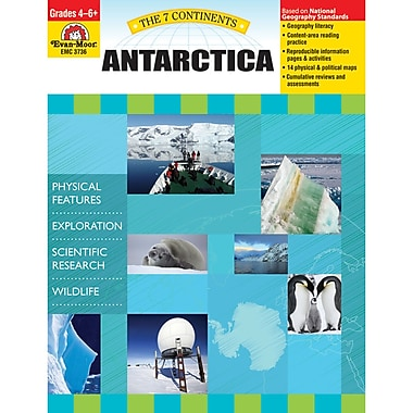Evan-Moor® The 7 Continents Antarctica Teacher Resource Book