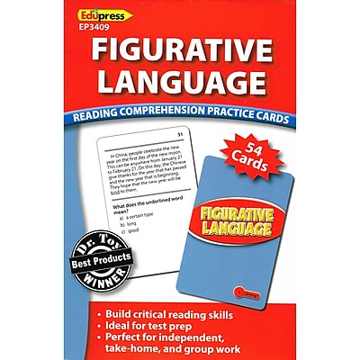 Figurative Language Cards, Reading Levels 2.0-3.5