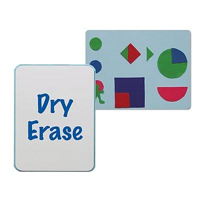 Flipside® Flannel/Dry Erase Board, 24