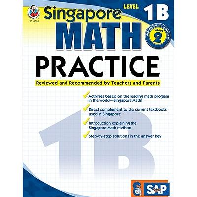 Singapore Math Practice Resource Book, Level 1B, Grade 1-2
