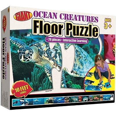 Carson Dellosa Ocean Creatures Floor Puzzle 897723