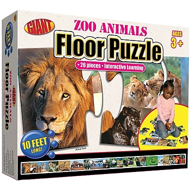 Carson Dellosa Zoo Animals Floor Puzzle (FS-076965827X)