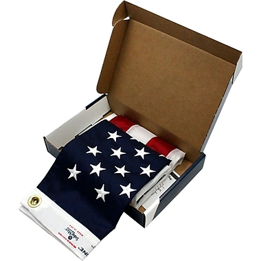 Flagzone® Durawavez Outdoor U.S. Flag, 2' x 3'