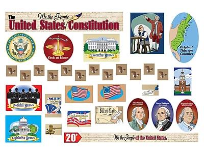 Gallopade All-In-One Bulletin Board Set, U.S. Constitution