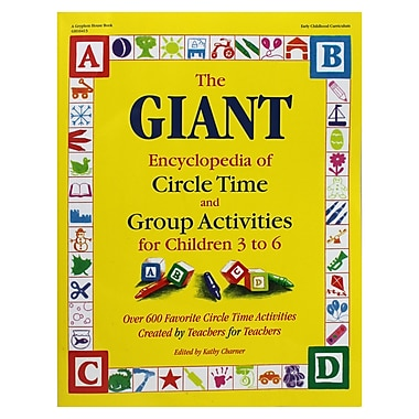 Gryphon House The GIANT Encyclopedia of Circle Time and Group Activities Book (GR-16413)