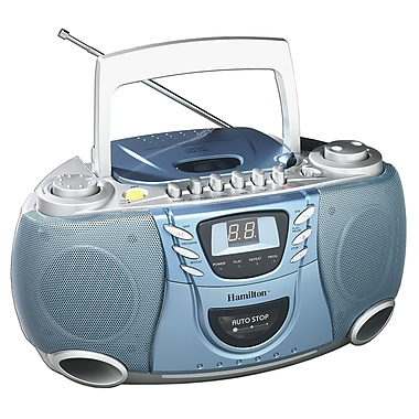 Hamilton Buhl™ CD/Cassette/AM/FM Radio Boom Box