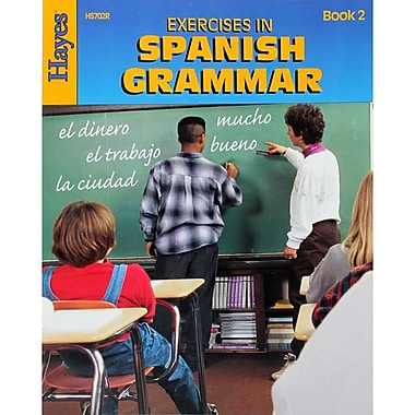 Hayes Exercises in Spanish Grammar Book