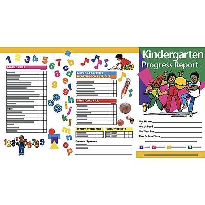 Hayes School Progress Notes, Kindergarten