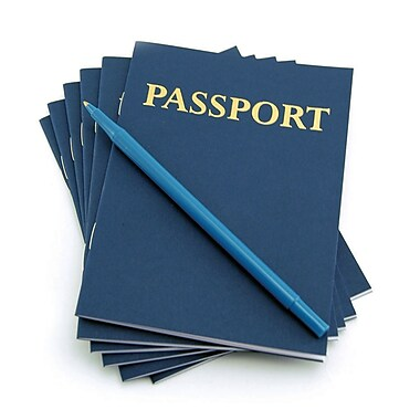 Hygloss, My Passport Book, 24/Pack