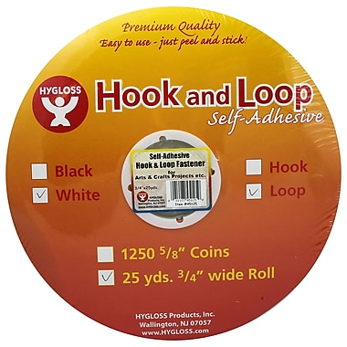 Hygloss™ Hook and Loop Fastener, 3/4