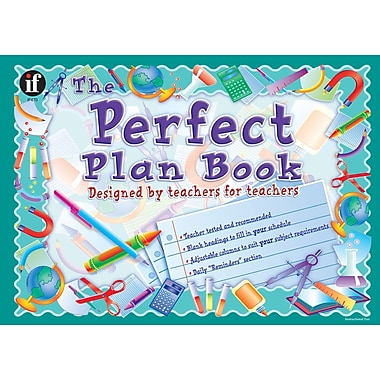 Instructional Fair The Perfect Plan Book, Grades K - 12, 2/Pack (IF-470)