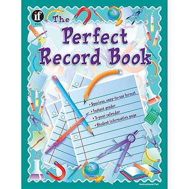 Instructional Fair The Perfect Record Book, Grades Up To 12, 3/Pack (IF-473)