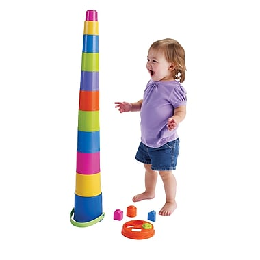 International Playthings Nest & Stack Conference Toy, Grade Infant - K (INPG02082)