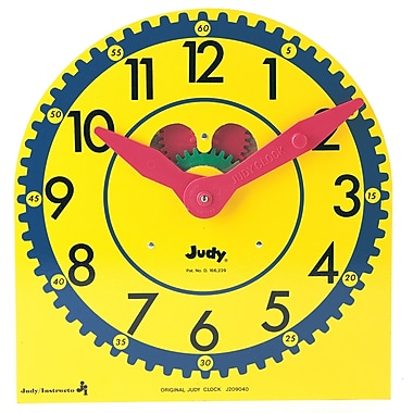 Carson Dellosa® Original Judy® Wood Clock, Grades K - 3
