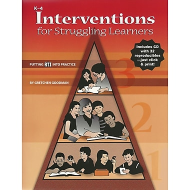Essential Learning® Interventions For Struggling Learners Book, Grades K - 4