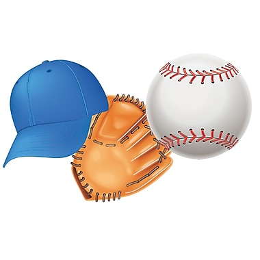 Eureka® Infant - 12th Grade Assorted Paper Cutout, Baseball