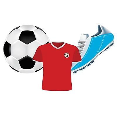 Eureka® Soccer Assorted Cut Outs