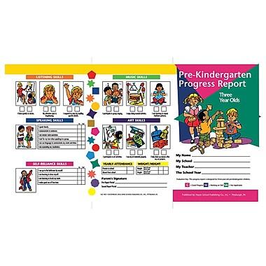 Hayes Pre-Kindergarten Progress Report Card, 10/Pack