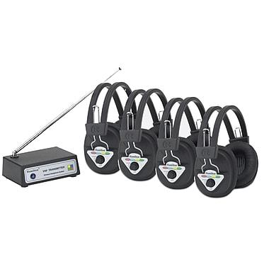 Hamilton Buhl 4 Station Wireless Listening Center (HECW904MULTI)
