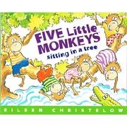 Houghton Mifflin Harcourt American – Livre « Five Little Monkeys Sitting in a Tree » (HO-395664136)