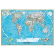 Globes maps flags staples national geographic maps world mural map gumiabroncs Image collections