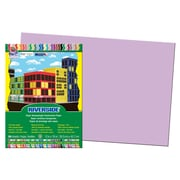 "Pacon® Riverside® Groundwood Construction Paper, Lilac, 18""(H) x 12""(W), 50 Sheets"