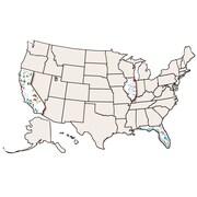 Roylco® USA Collage Map