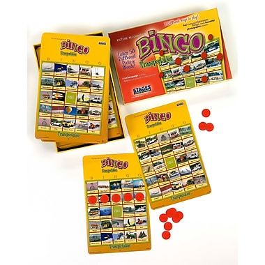 Stages Learning Materials® Transportation Bingo Game, Grades PreK+