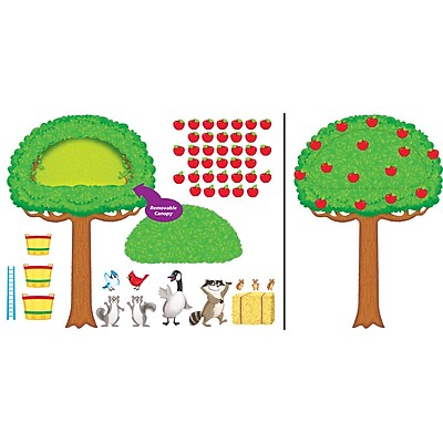 Trend® Apple Tree & Animals Bulletin Board Set