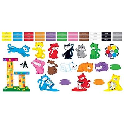 Trend® Curious Color Cats Bulletin Board Set
