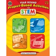 Teacher Created Resources Year Round Project-Based Activities For STEM Book, Grades 1 - 2