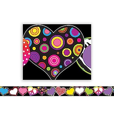 Teacher Created Resources® Fancy Hearts Border Trim