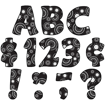 Teacher Created Resources Uppercase Letters Pack, Crazy Circles Funtastic