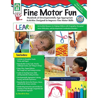 Key Education Publishing Fine Motor Fun Resource Book, Grades PreK - 1