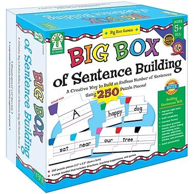 Key Education Publishing – Jeu manipulable « Big Box of Sentence Building », maternelle à 2e année (KE-840008)