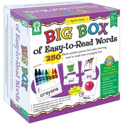 Carson Dellosa – Jeu de société éducatif « Big Box Of Easy-To-Read Words », 250/paquet (KE-840011)