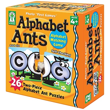 Key Education Publishing Alphabet Ants Board Game, Grade Preschool -1 (KE-842001)