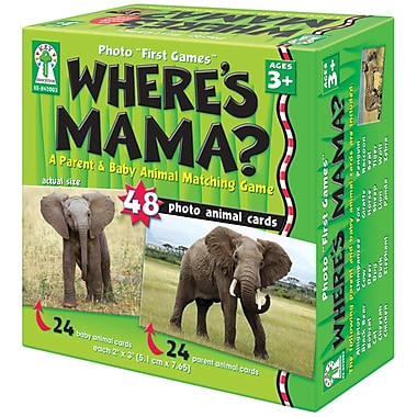 Key Education Publishing Where's Mama? Board Game, Grades Kindergarten