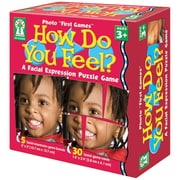 "Key Education Publishing Photo ""First Games"" How Do You Feel? Board Game, Grades Preschool - 1"