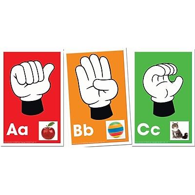 Key Education Publishing Alphabet: Signs, Letters, Sounds Learning Cards, Grades PreK - K