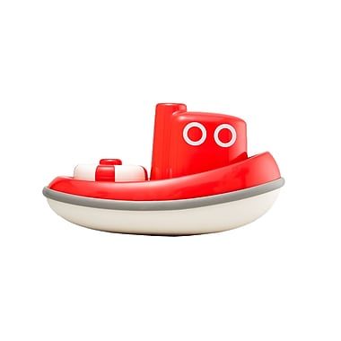 Kid O Products Tug Boat Toy Vehicle, Cherry Red