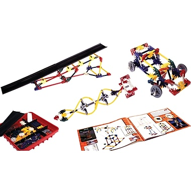 K'nex – Trousse d'activité « Intro To Simple Machines : Wheels, Axles and Inclined Planes », 3e à 5e années (KNX78620)