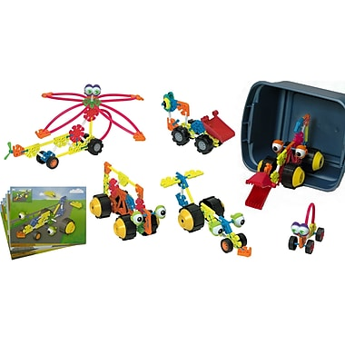 K'NEX® 229 Piece Transportation Set