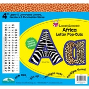 "Barker Creek® Lasting Lessons® 4"" Letter Pop-Out, Africa"