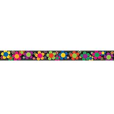 Barker Creek® Preschool - 12th Grade Straight Border, Neon Flower